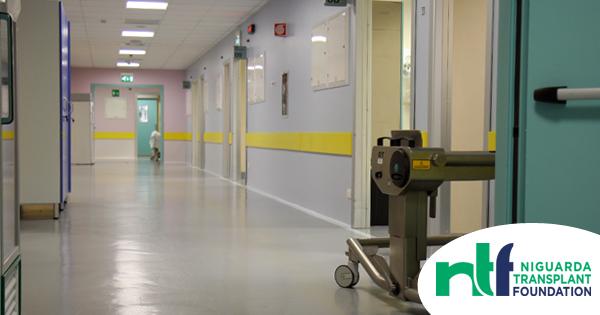 Corridoio Reparto Chirurgia Generale e Trapianti Niguarda